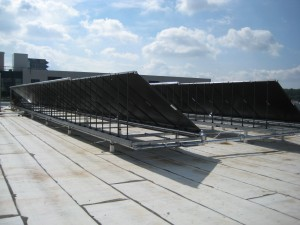 Solar Thermal System at Warrior Transition Unit
